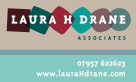 Identity and Logo design for Laura H Drane Associates