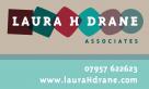 Identity and Logo design for Laura H Drane Associates